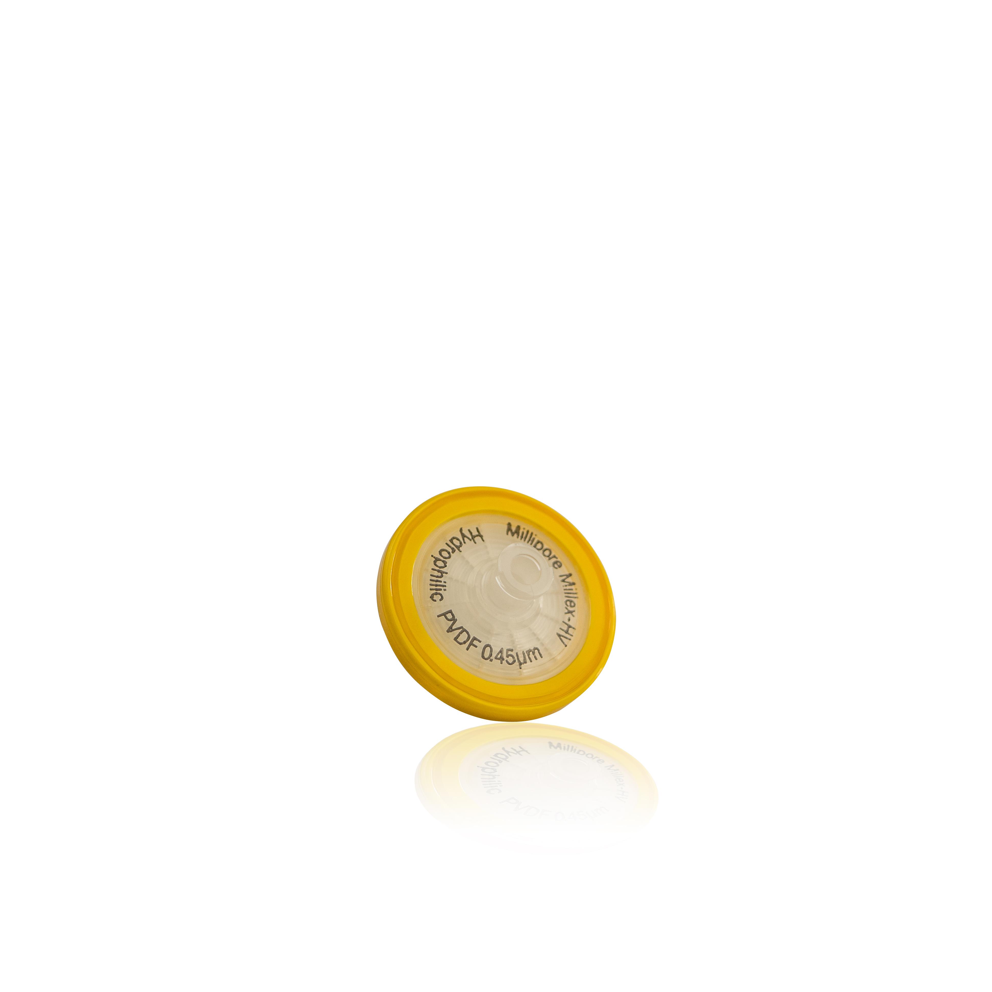FILTRO MILLEX 33MM-45UM  PVDF C/1000   MILL